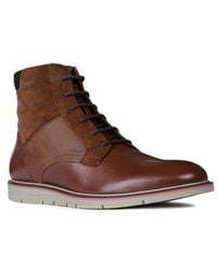 Geox - Uvet Lace-up Boot - Lyst