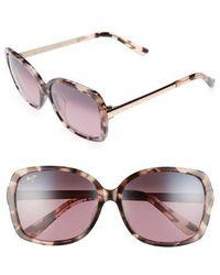 Maui Jim - Melika 58mm Polarized Square Sunglasses - Lyst