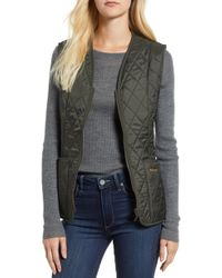 Barbour - Betty Quilted Vest - Lyst
