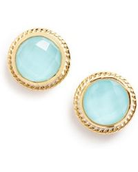 Anna Beck - Stone Stud Earrings - Lyst