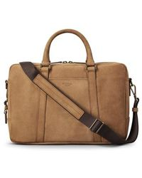 Shinola - Outrigger Slim Leather Briefcase - - Lyst