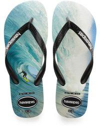 df1efffd4 Lyst - Havaianas Top Sandals in Black for Men