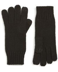 Nordstrom - Knit Tech Gloves - Lyst