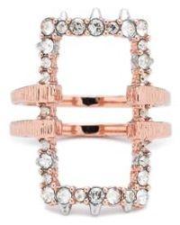 Alexis Bittar - Elements Rectangle Ring - Lyst