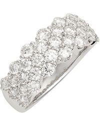 Bony Levy - Luxe Three-row Diamond Ring (nordstrom Exclusive) - Lyst