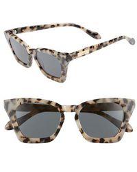 Sonix - Ginza 50mm Cat Eye Sunglasses - - Lyst