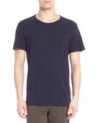 Vince - Slub Crewneck T-shirt - Lyst