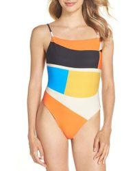 Billabong - Vai Vai Reversible One-piece Swimsuit - Lyst