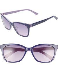61e96ff7d1ad Lyst - TOMS  gavin  50mm Retro Sunglasses - Indigo Abstract ...