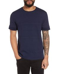 Vince Camuto - Banded Cuff Crewneck T-shirt - Lyst