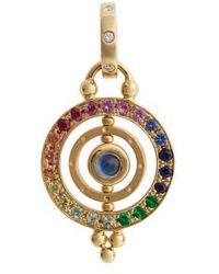 Temple St. Clair | Temple St. Clair Piccolo Tolomeo Diamond & Sapphire Pendant | Lyst