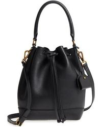 Madewell - Lafayette Leather Bucket Bag - Lyst