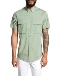 Calibrate - Military Stretch Sport Shirt - Lyst