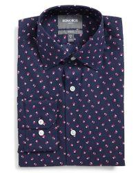 Bonobos - Cherry Slim Fit Stretch Floral Dress Shirt - Lyst