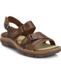 a31c2dd4ffda Lyst - Born Men s Plato Leather Sandal in Brown for Men