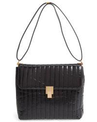 Victoria Beckham - Quinton Quilted Leather Shoulder Bag - Lyst