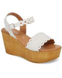 Matisse - Chrysler Platform Wedge Sandal - Lyst