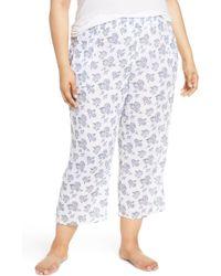 Make + Model - Crinkle Crop Pyjama Pants - Lyst