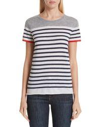 Majestic Filatures - Stripe Cashmere Sweater - Lyst