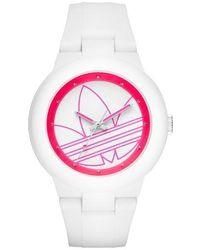 Adidas Originals | 'aberdeen' Silicone Strap Watch | Lyst