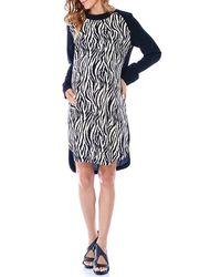 Imanimo - Print Maternity Shift Dress - Lyst
