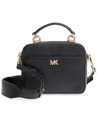 MICHAEL Michael Kors - Mott Pebbled Leather Crossbody Bg - - Lyst