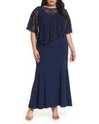 Decode 1.8 - Lace Poncho Dress - Lyst