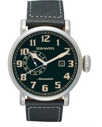 Szanto - Automatic Leather Strap Watch - Lyst