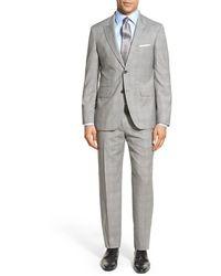 Strong Suit - 'cutlass' Trim Fit Plaid Wool Suit - Lyst