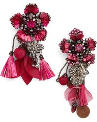Ranjana Khan - Peony Drop Earrings - Lyst