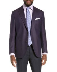 David Donahue - Aiden Classic Fit Wool Sport Coat - Lyst