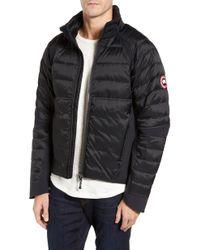 Canada Goose - Hybridge Perren Slim Fit Packable Down Jacket, Black - Lyst