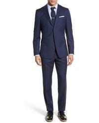Jack Spade - Trim Fit Solid Wool Suit - Lyst
