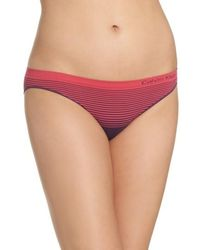 CALVIN KLEIN 205W39NYC - Illusion Seamless Bikini Briefs - Lyst