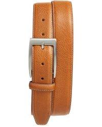 Bill Lavin | Two-tone Pebbled Leather Belt | Lyst