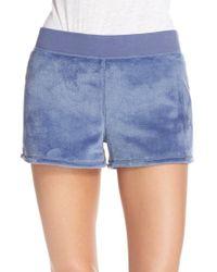 UGG - Ugg 'kerra' Velour Shorts - Lyst
