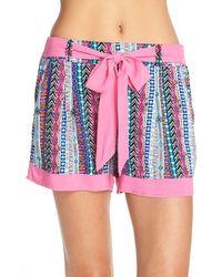 Bollydoll | Print Pyjama Shorts | Lyst