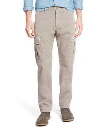 Jean Shop - Slim Fit Selvedge Twill Cargo Pants - Lyst