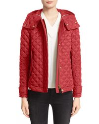 Burberry Brit - Leightonbury Quilted Hooded Jacket - Lyst