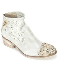 Summit - By White Mountain Galene Metallic-Leather Boots - Lyst