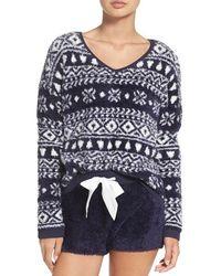Make + Model - Fuzzy Lounge Sweater - Lyst