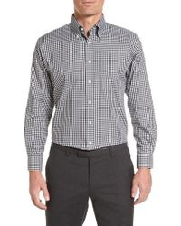 Nordstrom - Traditional Fit Non-iron Gingham Dress Shirt - Lyst