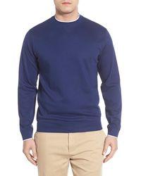 Bobby Jones - Pima Cotton Crewneck Sweater - Lyst