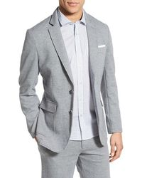 Singer + Sargent - Regular Fit Double-knit Stretch Cotton Blazer - Lyst