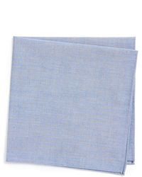 Calibrate - Microdot Chambray Pocket Square - Lyst