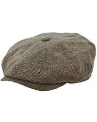 Stetson - 'hatteras' Silk Driving Cap - Lyst