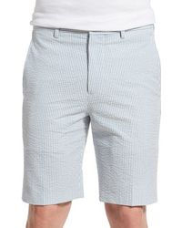 Haspel - Seersucker Walk Shorts - Lyst
