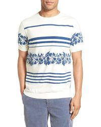 Surfside Supply - Intarsia Floral Crewneck T-shirt - Lyst