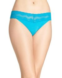 Natori - 'bliss Perfection' Thong - Lyst