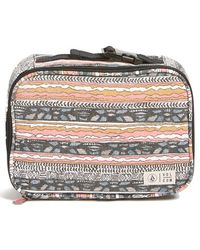 Volcom - Cotton Canvas Print Lunchbox - Lyst